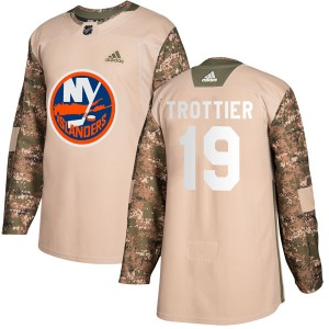 Youth Authentic New York Islanders Bryan Trottier Camo Veterans Day Practice Official Adidas Jersey