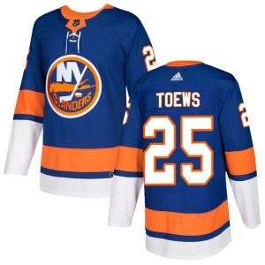 Youth Authentic New York Islanders Devon Toews Royal Home Official Adidas Jersey